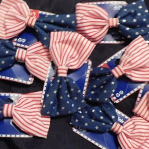 BIG BOWS RED,WHITE,BLUE 8 IN BAG